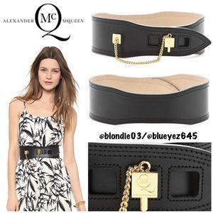 McQ by Alexander McQueen cube waist belt XS